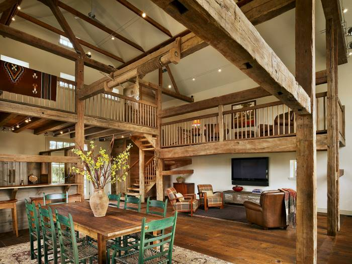 Interior pictures pole barn homes House design plans